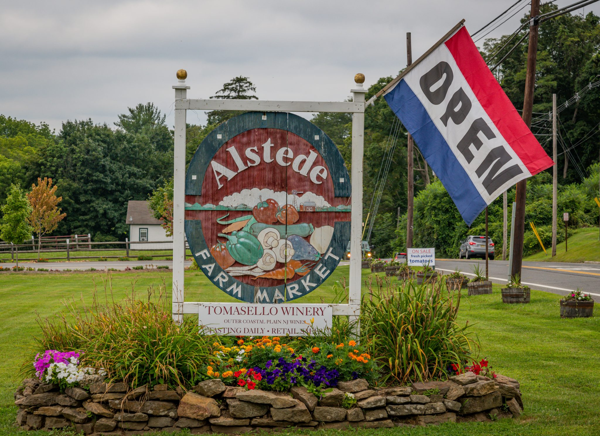 Alstede Farms, Exterior, Alstede Main Sign, 2019, Farm, Recreation, Farm,