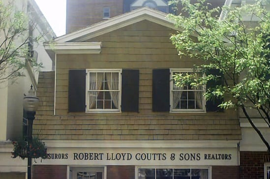 Robert Lloyd Coutts & Son building