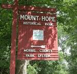 Mount Hope historical park'