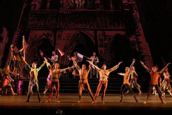 New Jersey Ballet actors performing Esmeralda