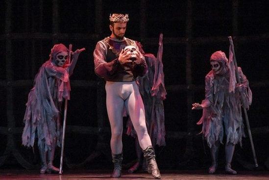 New Jersey Ballet performing Macbeth