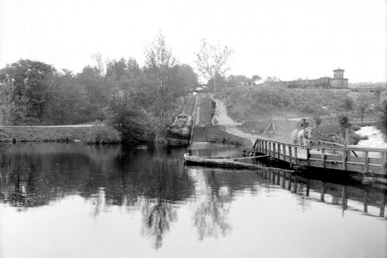 Canal Society Waterloo Plane