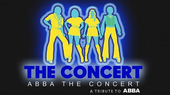 Abba the concert signage