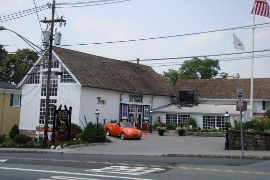 Outside The Black Horse Tavern