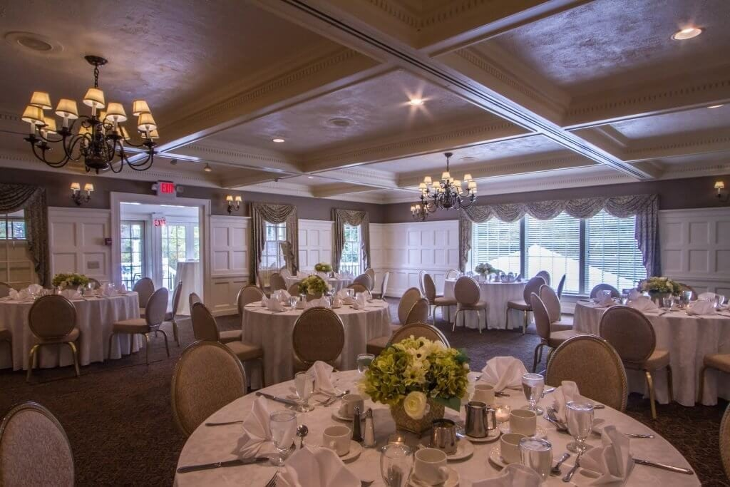 Ballroom area at the Old Mill Inn