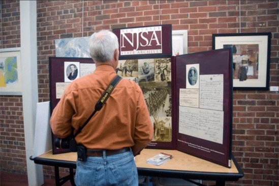 New Jersey State Archives information booth