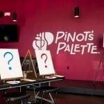 Pinot's Palette wall logo