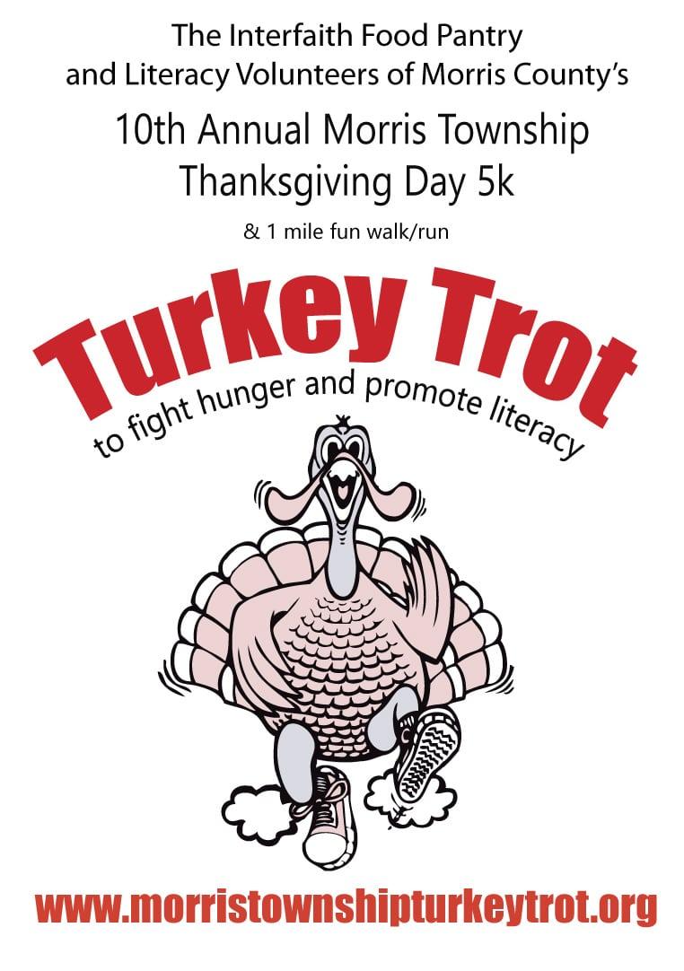 turkey trot 2017 signage