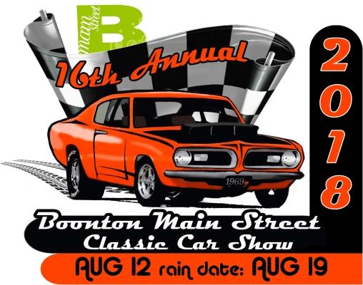 Th Annual Boonton Main Street Car Show - Main street car show