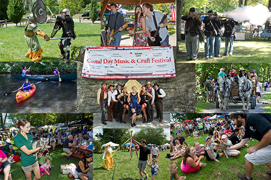 44th annual Canal Day Music & Craft Festival