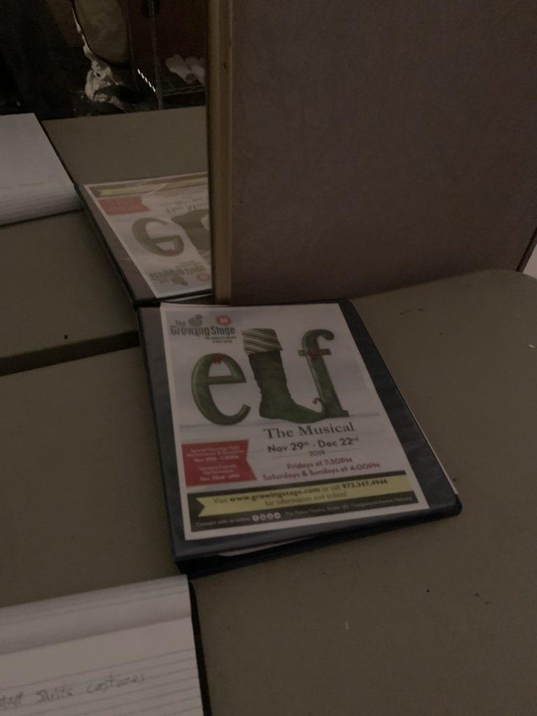 Notebook of Elf script